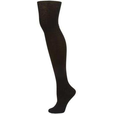 Yelete Women's Black Over the Knee Socks - 1 Pair