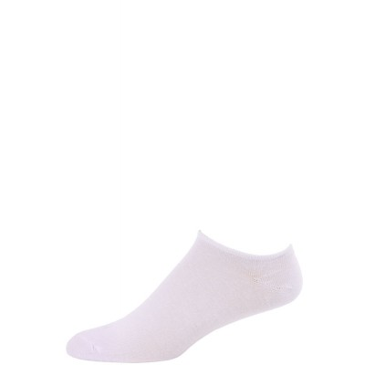 Millennium Men's Low Cut Socks - 3 Pairs - White