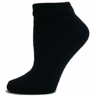 Sole Pleasers Women's Black Low-Cut Diabetic Socks - 3 Pairs