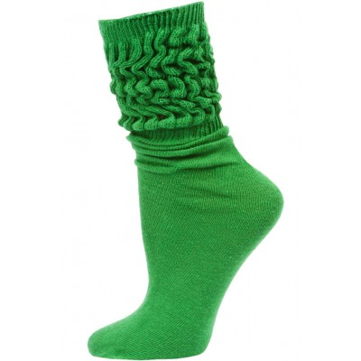 Millennium Women's Slouch Socks - 1 Pair - Kelly Green