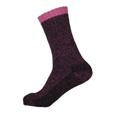 Women's Heated Thermal Socks - Pink - 1 Pair