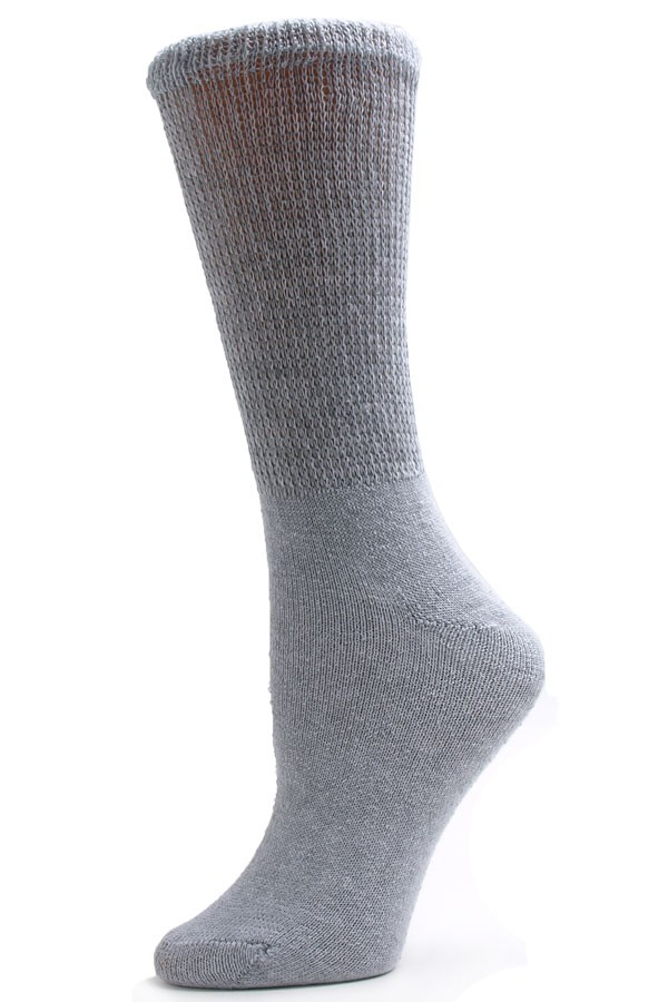 I received a pack of men's crew socks size made by Gildan. The socks I received were white with a grey heel and toe. I inspected all the socks in the /5(46).