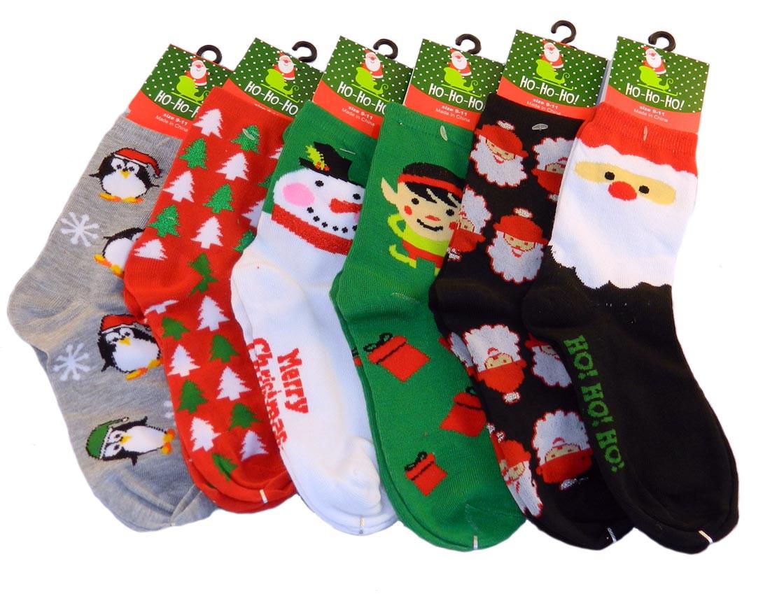 Christmas Crew Socks