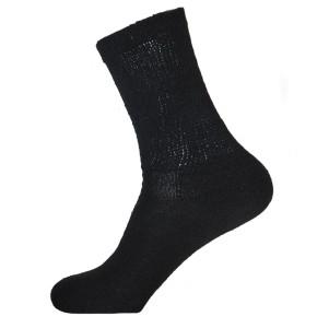 Physician's Choice Men's Black Diabetic Crew Socks - 3 Pairs