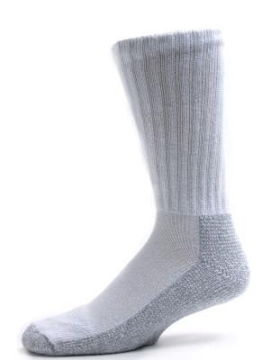 Pro-Trek Men's Heavy Duty Steel Toe Socks - 2 Pairs