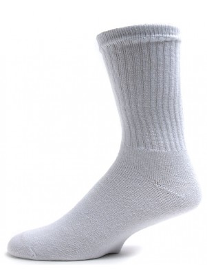 American Made Men's King Size Athletic Crew Socks - 3 Pairs