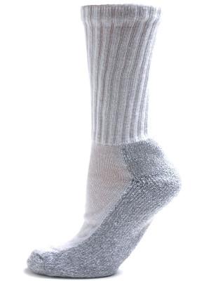 Pro-Trek Women's Heavy Duty Steel Toe Socks - 2 Pairs