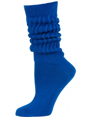 Credos Women's Extra Heavy Slouch Socks - 1 Pair - Royal Blue