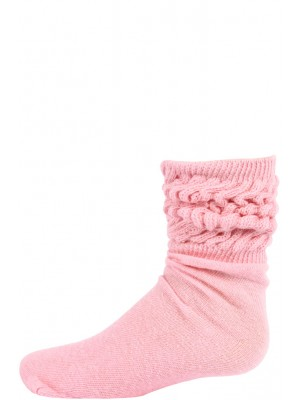 Millennium Kids' Slouch Socks - 1 Pair - Light Pink