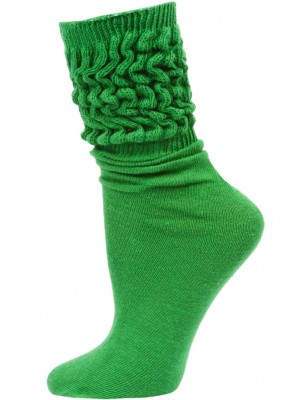Millennium Women's Slouch Socks - 1 Pair - Kelly Green