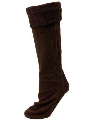 Chatties Women's Rainboot Liner Socks - 1 Pair - Brown
