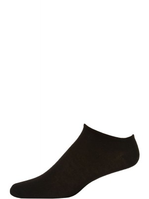 Millennium Men's Low Cut Socks - 3 Pairs - Black