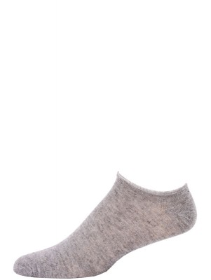 Millennium Men's Low Cut Socks - 3 Pairs - Grey