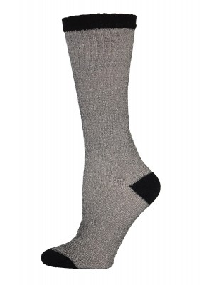 Ruggeds Women's Insulated Thermal Socks with Black Stripe - 2 Pairs