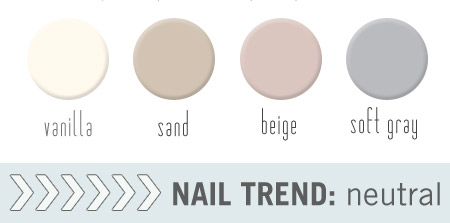 neutral nail trends 2012