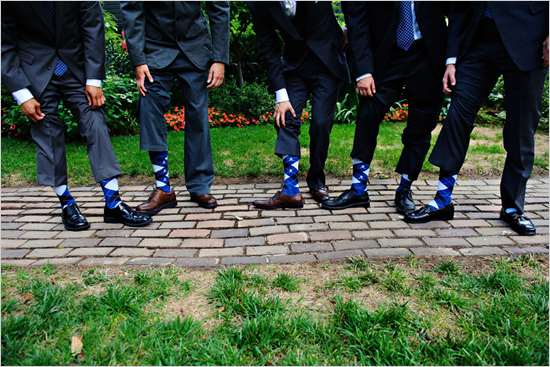 argyle wedding socks