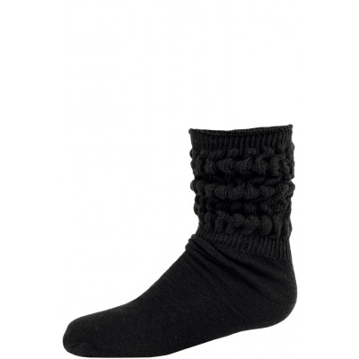 Millennium Kids' Slouch Socks - 1 Pair - Black