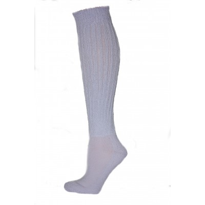 Extra Long, Extra Heavy Lilac Slouch Socks - 1 Pair