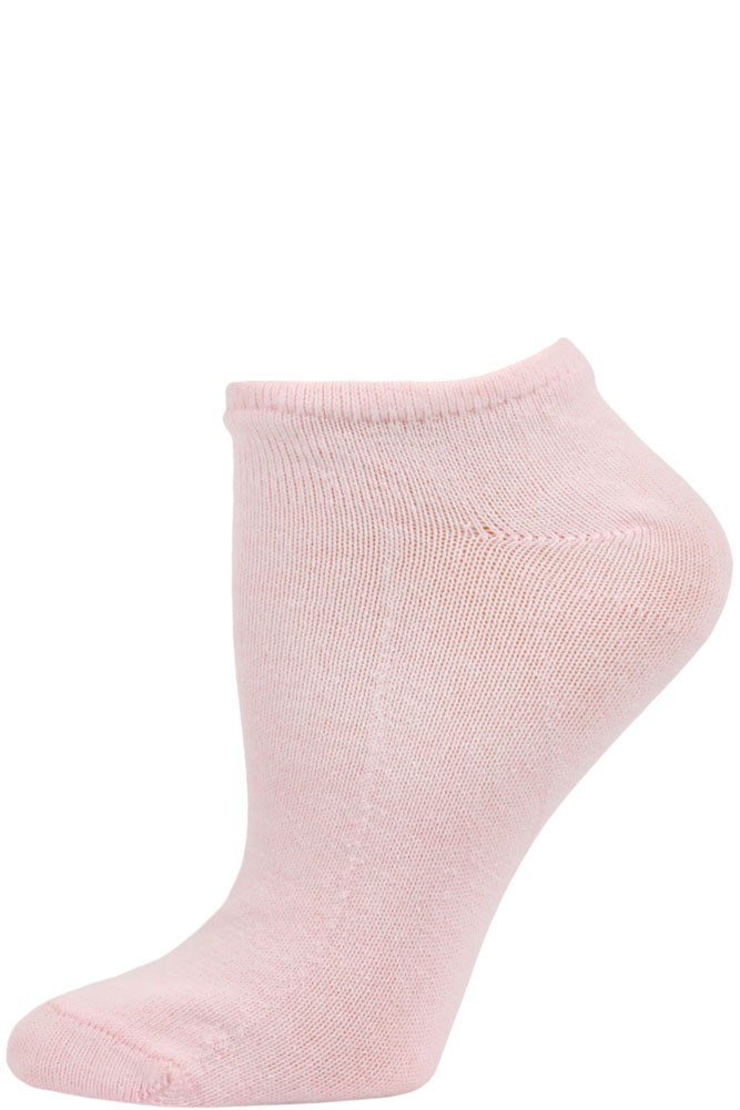 Pink Ankle Quarter Socks 6 Pair Women/'s Size 9-11 Made In The USA!!