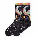 K. Bell Women's Mystic Moon Socks