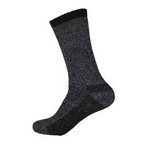 Mens Heated Thermal Socks - Black - 1 Pair