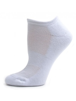 Running Mate Women's Low Cut Socks - 3 Pairs - White