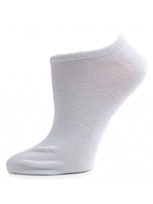 Julietta Women's Super Low Cut Socks - 3 Pairs - White