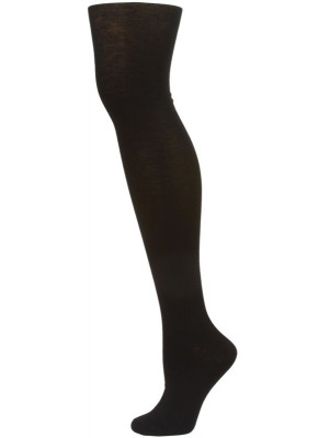 Yelete Women's Black Over the Knee Socks - 1 Pair