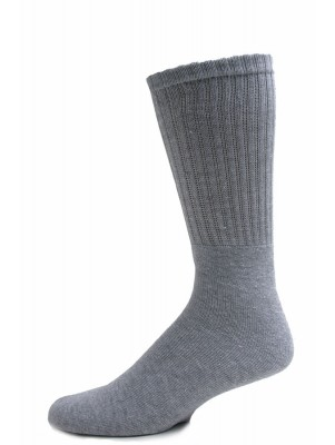 Excell Adult Tube Socks - 6 Pairs - Grey