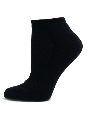 Running Mate Men's Low Cut Socks - 3 Pairs - Black