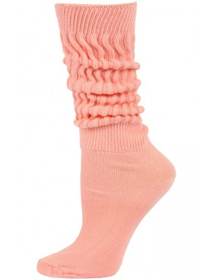 Credos Women's Extra Heavy Slouch Socks - 1 Pair - Light Pink