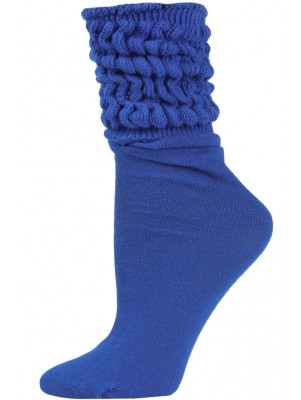 Millennium Women's Slouch Socks - 1 Pair - Royal Blue