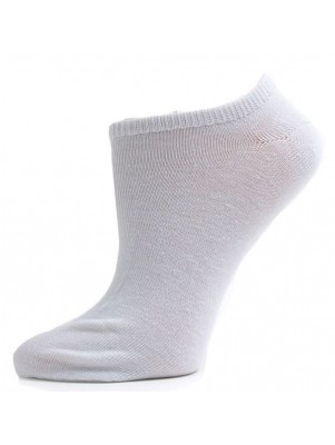 Women's White No Show Socks - 3 Pairs
