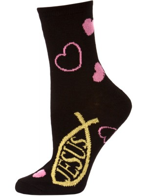 Holy Socks Women's Crew Socks - 1 Pair