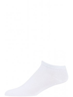 Le Prive Men's White Low Cut Socks - 5 Pairs